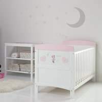 Disney Minnie Mouse 2 Piece Room Set & Changing Mat - Hearts
