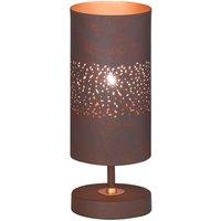 Wofi Ancona Table Lamp - Antique Brown