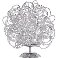 Wofi Apart LED Table Lamp - Silver