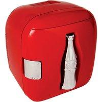 Koolatron Coca-Cola CCU09 12-Can Cube Bottle Fridge - Red