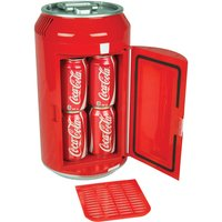 Koolatron Coca-Cola CC06-G 8-Can Mini Fridge - Red and White