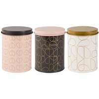 Beau & Elliot Champagne Edit Oyster Dove & Blush Storage Tins