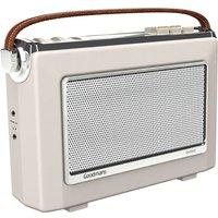 Goodmans Oxford DAB & FM Radio - Cream