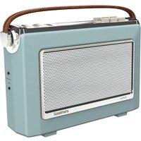 Goodmans Oxford DAB & FM Radio - Sky Blue