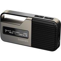 Goodmans Pocket Sport DAB Radio - Steel
