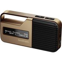 Goodmans Pocket Sport DAB Radio - Gold