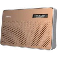 Goodmans Canvas DAB & FM Radio - Copper