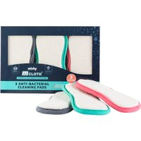 Minky M Cloth Anti-Bacterial Cleaning Pads - 3 Pack