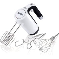 Morphy Richards 400505 Total Control Hand Mixer - White and Black