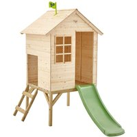 TP Toys Sunnyside Wooden Tower Playhouse With Slide