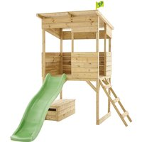 TP Toys Tree Tops Playhouse and Toy Box with Slide