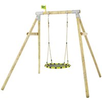TP Toys Eagle Single Wooden Nest Swing Set