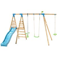 TP Toys Galapagos Wooden Swing and Slide Set