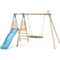 TP Toys Fiordland Wooden Swing and Slide Set