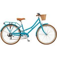 Ryedale Peony 24 Inch Wheel 13 Inch 7 Speed Heritage Bike - Blue