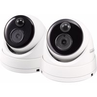Swann 5MP Super HD Dome Cameras - 2 Pack