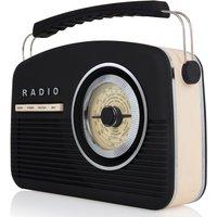 AKAI DAB Vintage Radio - Black A60010VDABB