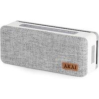 AKAI 10W Portable Bluetooth Speaker - Grey