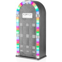 Itek Floorstanding Bluetooth Jukebox with CD Player - Ash Grey