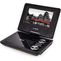 AKAI 7-inch Portable DVD Player - Black
