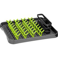 Premier Housewares Dish Drainer - Lime Green