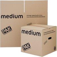 StorePAK 5 Pack Medium Storage Boxes