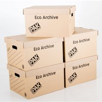 StorePAK 5 Pack Eco Archive Box and Lid