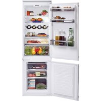 Hoover HBBS 100 UK Static Integrated 70:30 Fridge Freezer - White