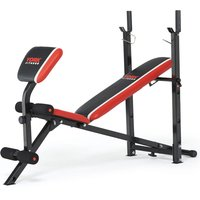 York Fitness Warrior 2 in 1 Barbell and Ab Bench with Curl