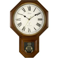 Acctim Yarnton RC Wood Effect Pendulum Wall Clock