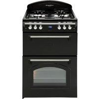 Leisure GRB6GVK Gourmet Range-Style 60cm Gas Cooker - Black