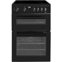 Beko KTC611K Freestanding 60cm Electric Cooker - Black