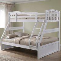 The Artisan Bed Company Three Sleeper - White
