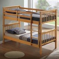 The Artisan Bed Company The Artisan Bed Compay Bunk Bed with Flat Headboard - Beech