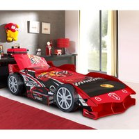 The Artisan Bed Company Speed Racer Car Bed - Red