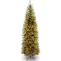 National Tree Company Kingswood Pre-Lit Pencil Fir Christmas Tree - 5ft