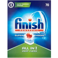 Finish All In 1 Dishwasher Tablets Regular - 70 Tablets