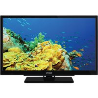 "Linsar 24LED5000 24"" HD Ready TV with Integrated DVD and Freeview HD - Black"