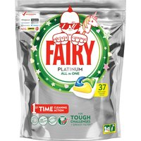 Fairy Platinum All In One Dishwasher Tablets - 37