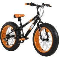 """Sonic 20"""" Wheel Fat Bike V Brake - Black/Orange"""