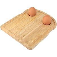 Apollo Rubberwood Toast Breakfast Board