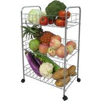 Apollo Chrome Vegetable Trolley