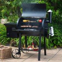 Lifestyle Appliances Big Horn Pellet Smoker BBQ