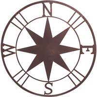 My Botanical Garden Metal Wall Plaque Star