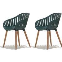LifestyleGarden DuraOcean Recycled Plastic Chairs - 2 Pack