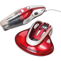 Ewbank Multi Purpose Vacuum Cleaner with Bed & Fabric Sanitizer - Red