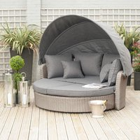 Pacific Lifestyle Cayman/Barbados Day Bed - Slate Grey