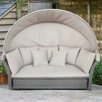 LG Outdoor Monaco Stone Daybed