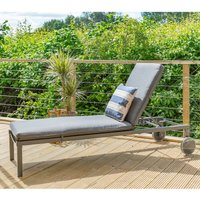 LG Outdoor Milano Sunlounger and Cushion