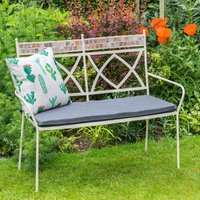 LG Outdoor Morocco Bench and Cushion